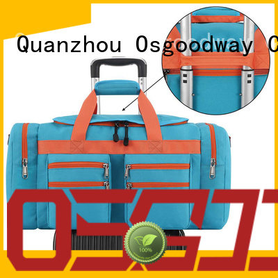Osgoodway compartment gym duffle bag design for travel