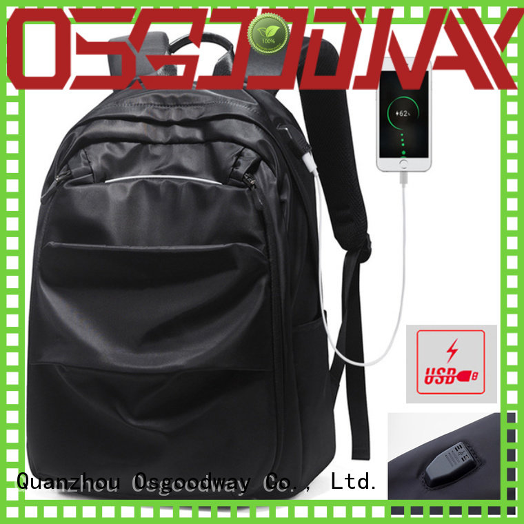 Osgoodway girls antitheft laptop backpack supplier for business traveling