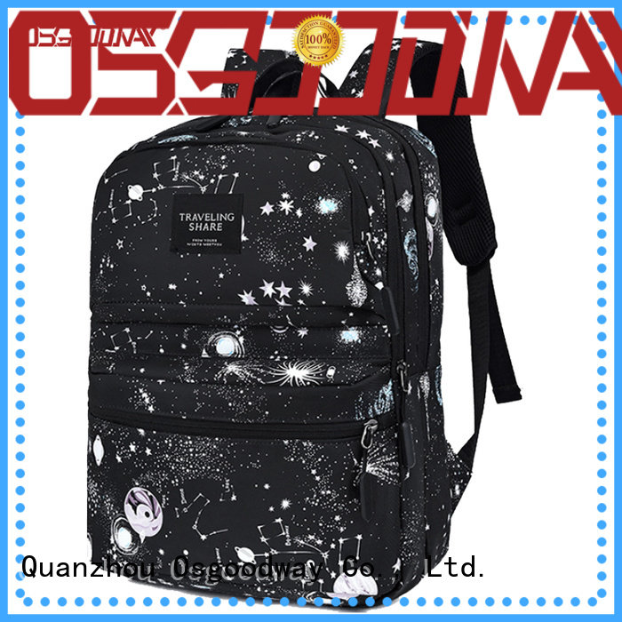 Osgoodway good quality business laptop backpack from China for men