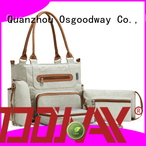 Osgoodway mummy canvas diaper backpack manufacturer for baby care