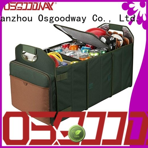 duty trunk organizer bag with cooler bag for vehicle Osgoodway