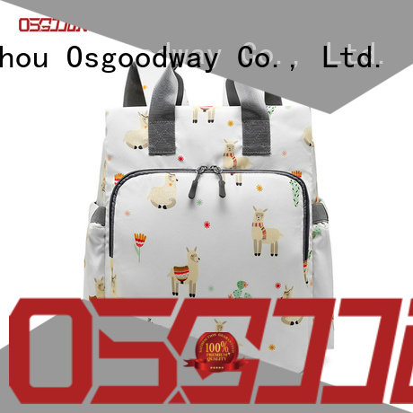 Osgoodway bags backpack diaper bag for girl wholesale for dad