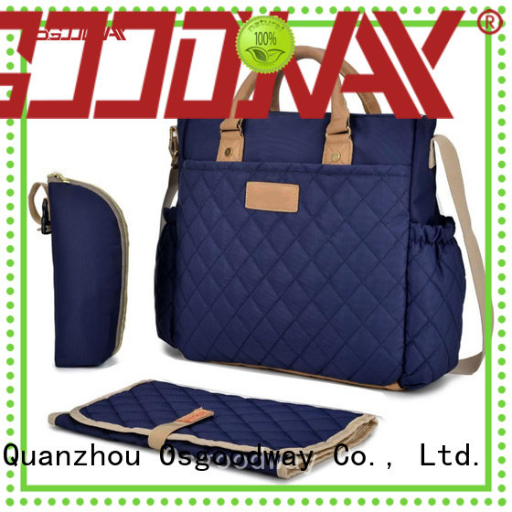 waterproof diaper bag company double easy to clean for baby care