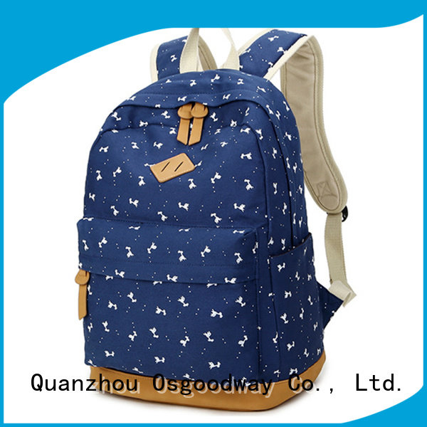 Osgoodway waterproof mens canvas backpack online for daily life