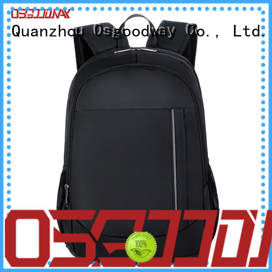 popular canvas laptop backpack wholesale for school