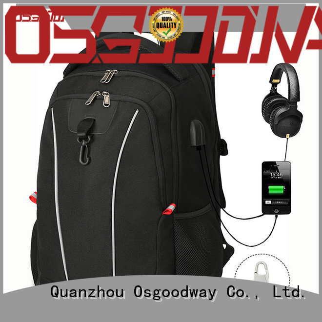Osgoodway anti theft laptop backpack from China for business traveling
