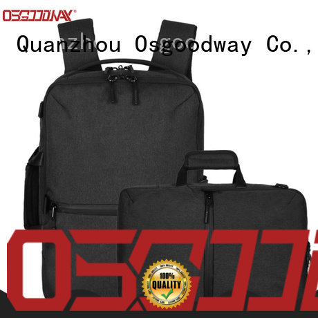 Osgoodway stylish lightweight laptop backpack from China for men