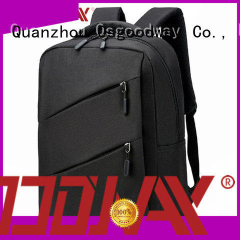 Osgoodway hot sale laptop charging backpack directly sale for men