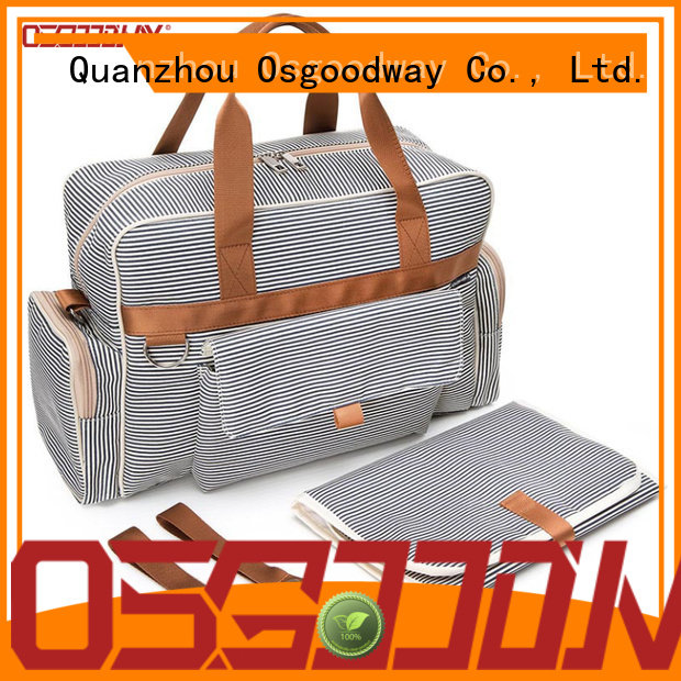Osgoodway crossbody diaper bag wholesale for dad