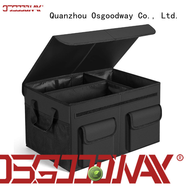 Osgoodway high quality trunk storage organizer with cooler bag for vehicle