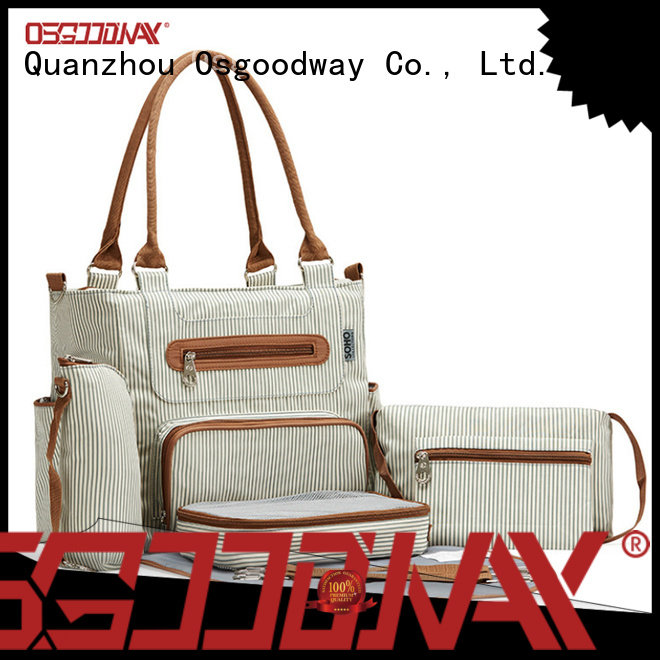 Osgoodway nursing stylish diaper bags easy to carry for baby care