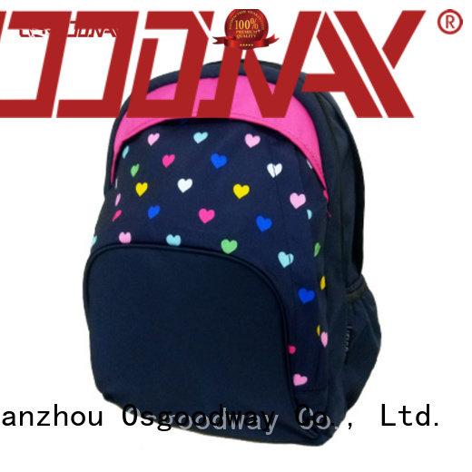 custom nylon backpack factory price for school