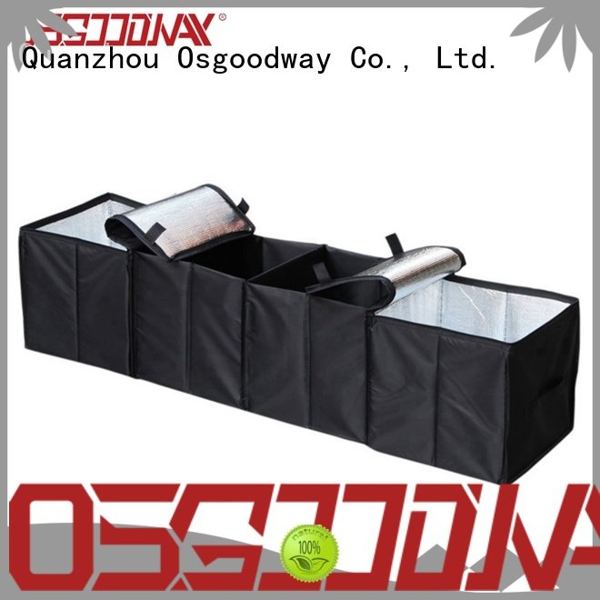 high quality insulated trunk organizer storage supplier for minivan