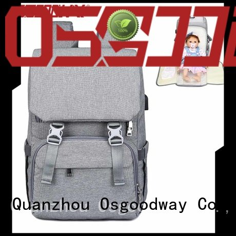 Osgoodway baby boy diaper bags easy to carry for picnic
