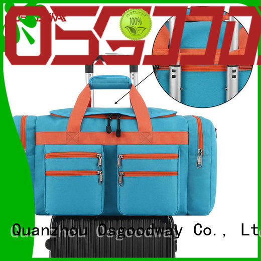 Osgoodway adjustable gym duffle bag womens design for fitness