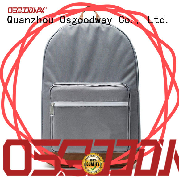 Osgoodway canvas backpack mens pink for daily life