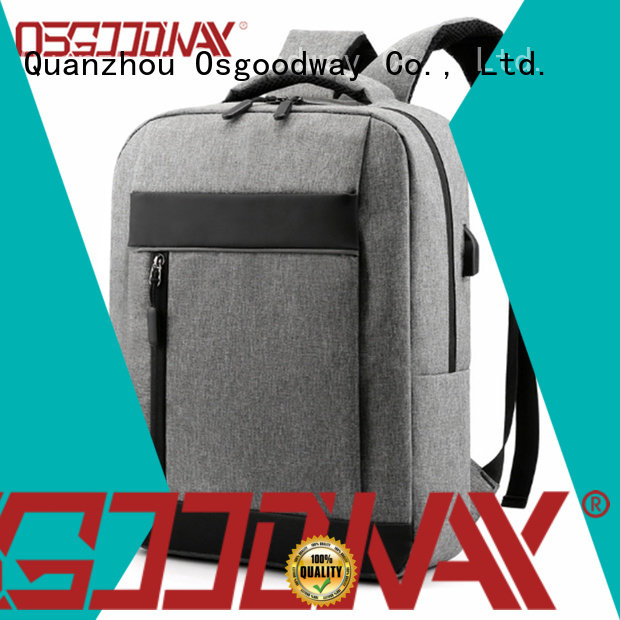 Osgoodway anti-theft laptop backpack directly sale for work