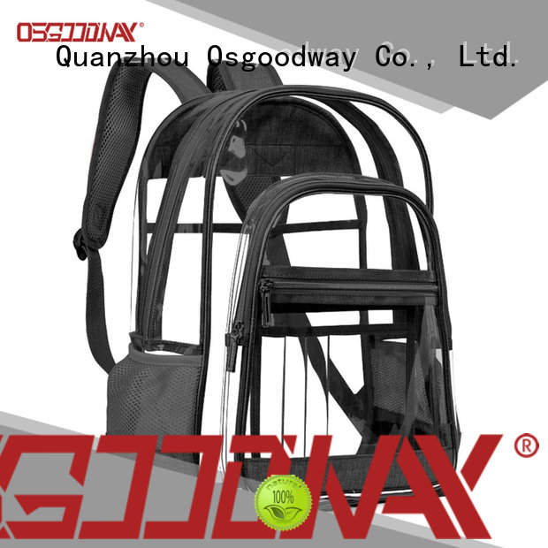 Osgoodway casual custom print backpack design for travel