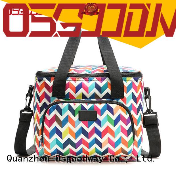 Osgoodway custom hiker cooler bag logo for camping