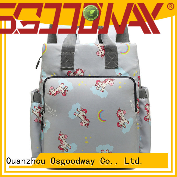 stylish diaper bag for dad easy to carry for picnic Osgoodway
