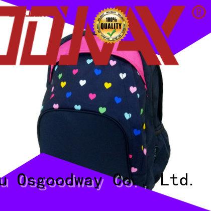 Cute Girly Backpacks Custom Made Printed Book Backpacks for Girls