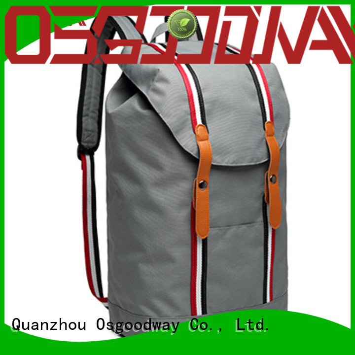 Osgoodway casual backpack rucksack factory price for school