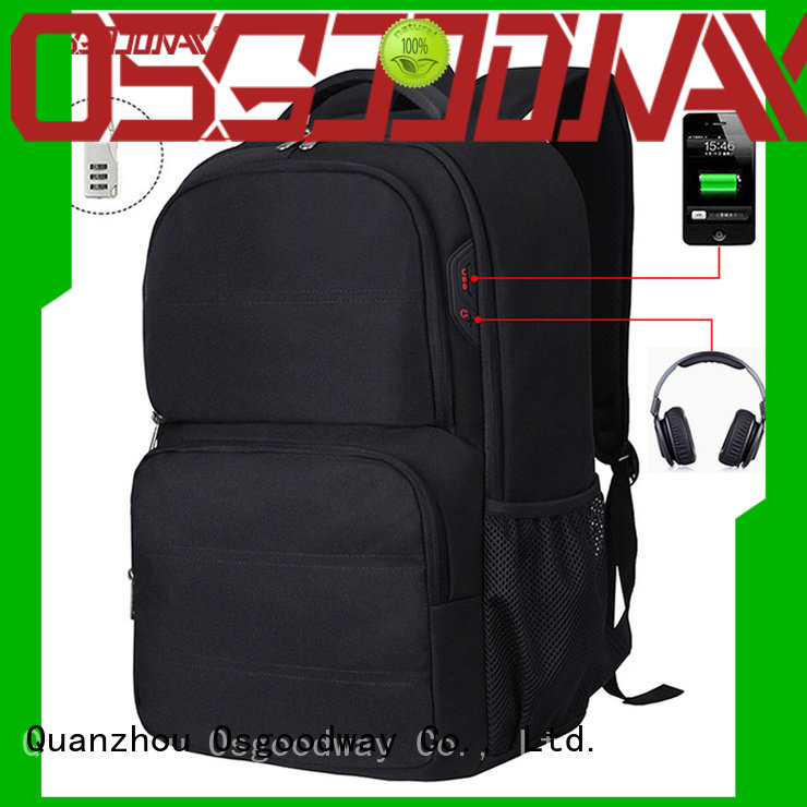 Osgoodway good quality convertible laptop backpack supplier for business traveling