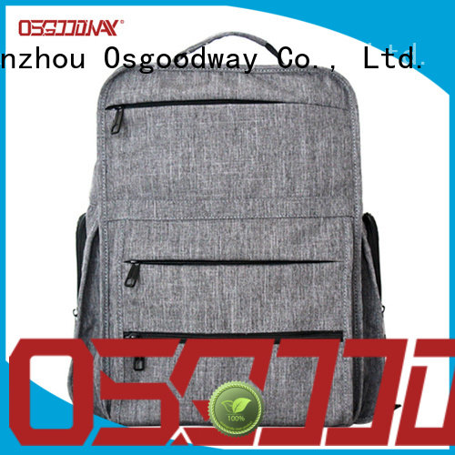 Osgoodway printing laptop backpack for men supplier for school