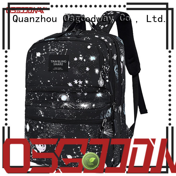 Osgoodway waterproof laptop backpack from China for school