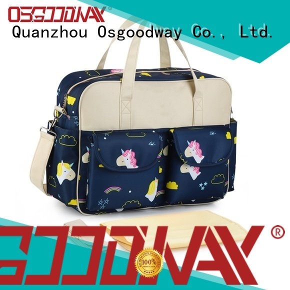 Osgoodway insulated modern diaper bag manufacturer for dad