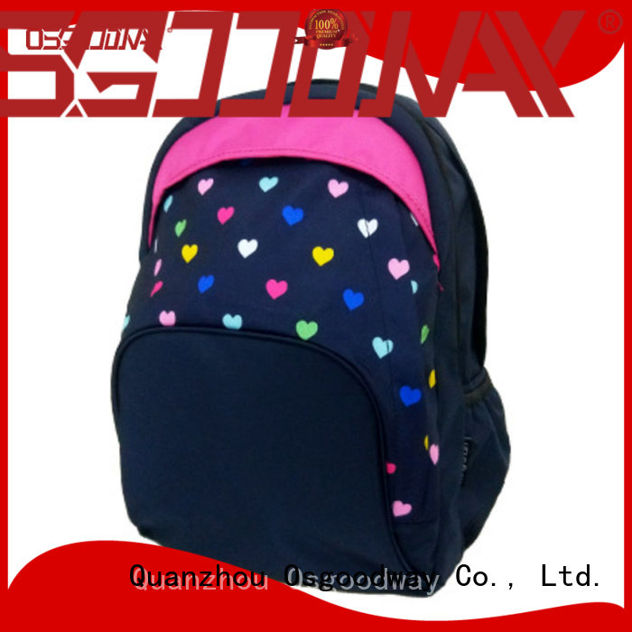 Osgoodway lightweight nylon backpack factory price for business traveling