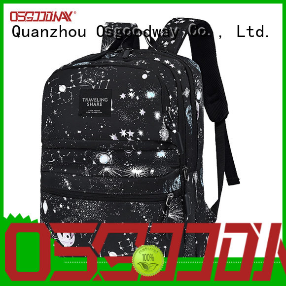 Osgoodway custom water resistant backpack on sale for travel