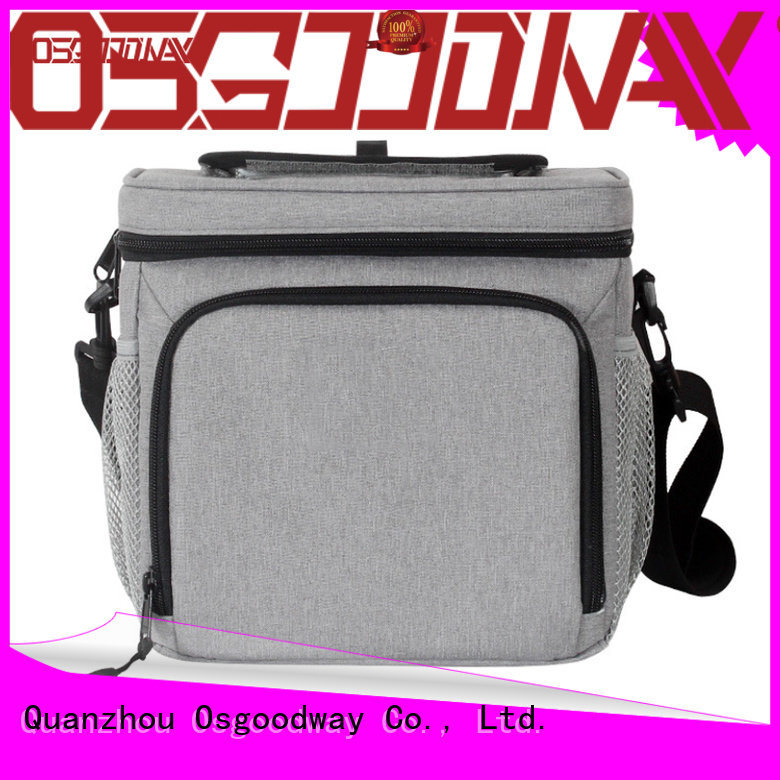 Osgoodway pockets lunch box cooler bag wholesale for hiking
