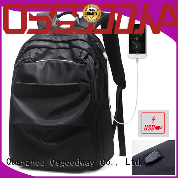Osgoodway professional laptop backpack wholesale for men