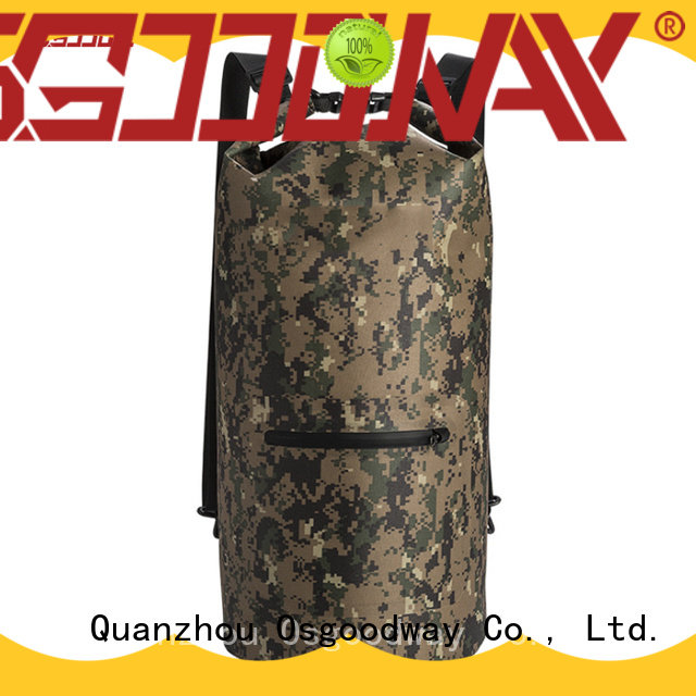 Osgoodway camo waterproof bag for backpack easy drying for outdoor