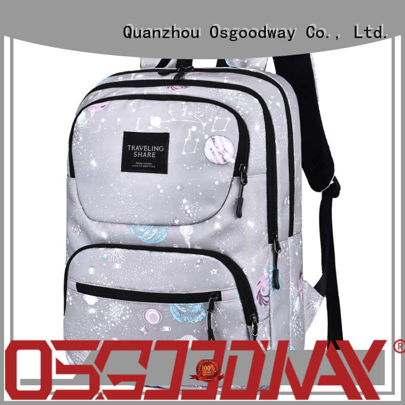 lightweight women school backpack back design for daily life