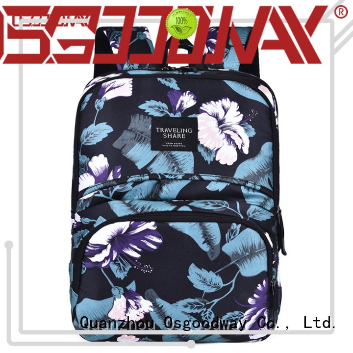 Osgoodway casual nylon backpack on sale for business traveling