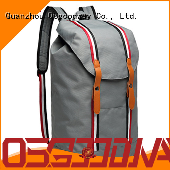 Osgoodway trendy backpack rucksack factory price for school