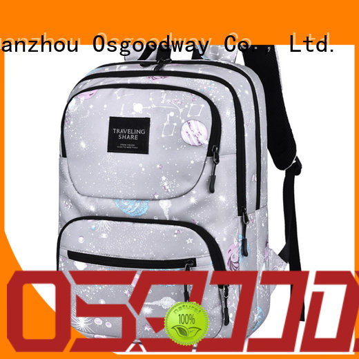 Osgoodway bagpack anti-theft laptop backpack supplier for men