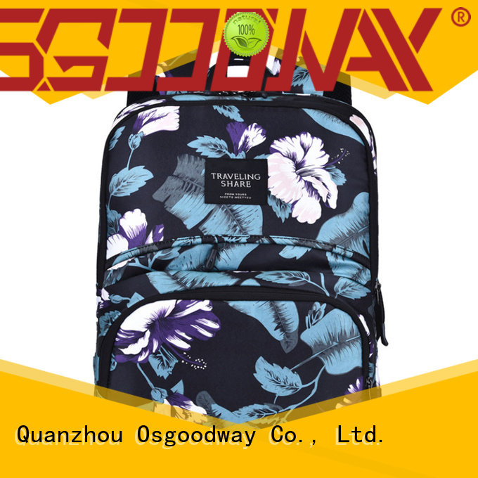 Osgoodway computer stylish laptop backpack from China for work