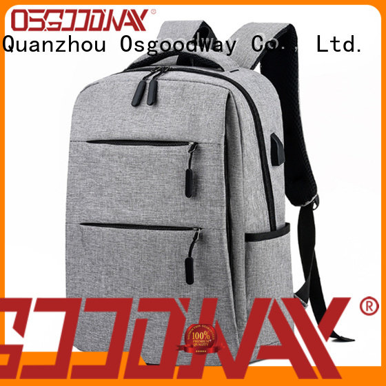 Osgoodway hot sale laptop backpack anti theft from China for school