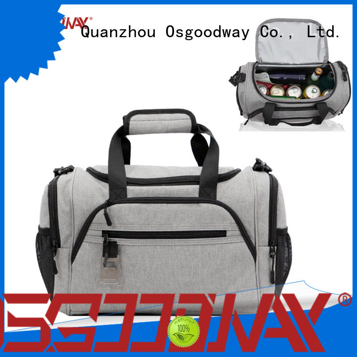 Osgoodway custom ice cooler bag keep food cold for hiking
