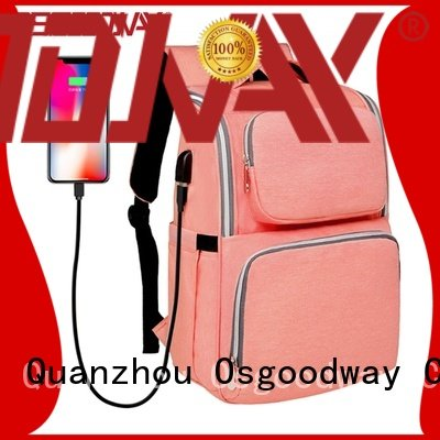 Osgoodway pad cute Diaper Bag wholesale for dad