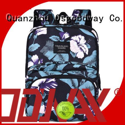 Osgoodway shoulder canvas laptop backpack supplier for work