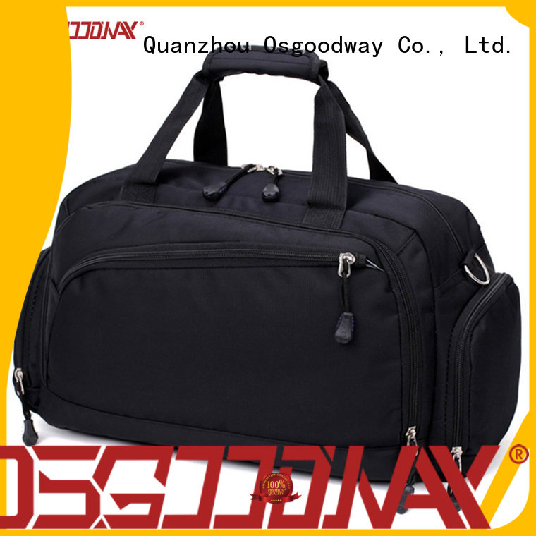 Osgoodway good quality duffle bag factory with Multi-pockets for travel