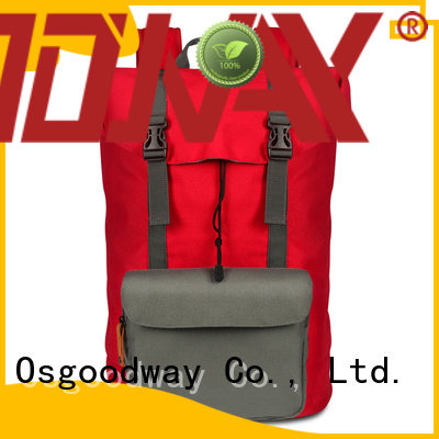 Osgoodway canvas women backpack factory price for daily life