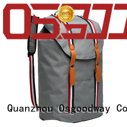 Osgoodway casual custom print backpack on sale for business traveling