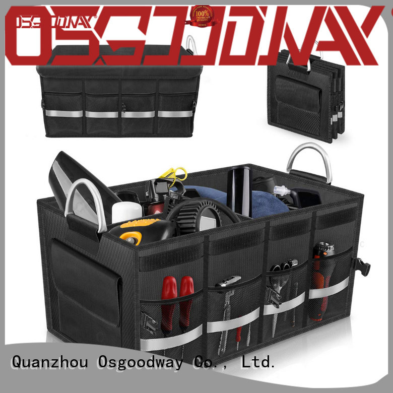 Osgoodway high quality insulated trunk organizer supplier for suv