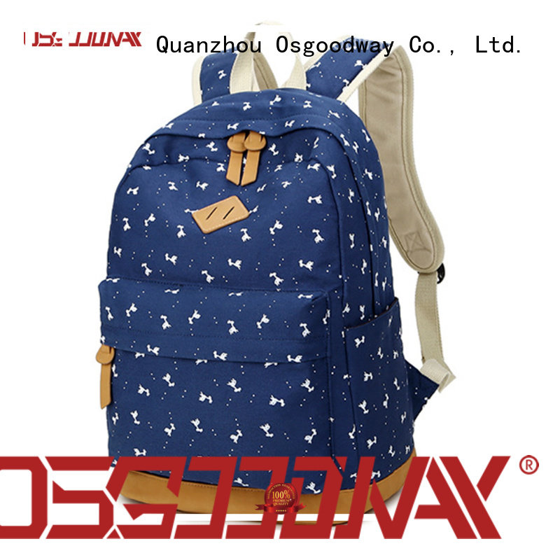 Osgoodway designer travel backpack for men design for outdoor