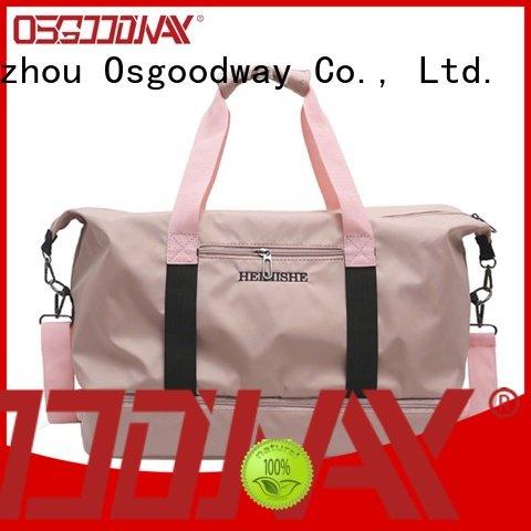 Osgoodway good quality custom bag manufacturer design for gym